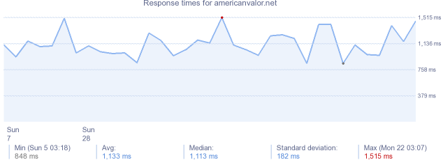 load time for americanvalor.net